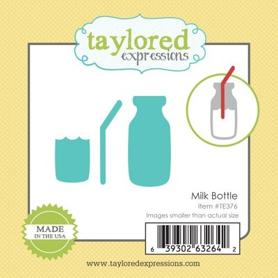 Die Taylored Expressions - Milk Bottle