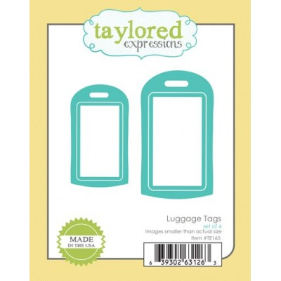 Die Taylored Expressions - Luggage Tags