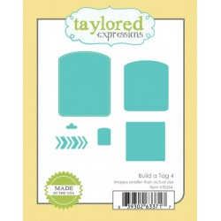 Die Taylored Expressions - Build a Tag 4