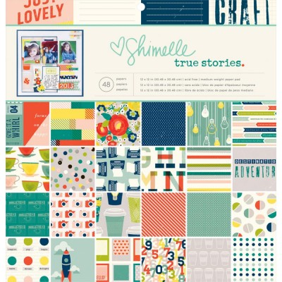Pack 30x30 - American Crafts - Shimelle True Stories