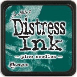 Mini Encreur Distress - Pine Needles