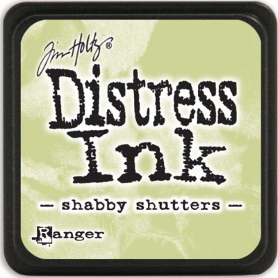 Mini Encreur Distress - Shabby Shutters