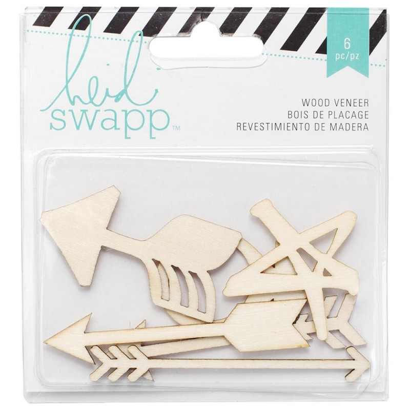 Heidi Swapp - Arrows - Wood Veneer