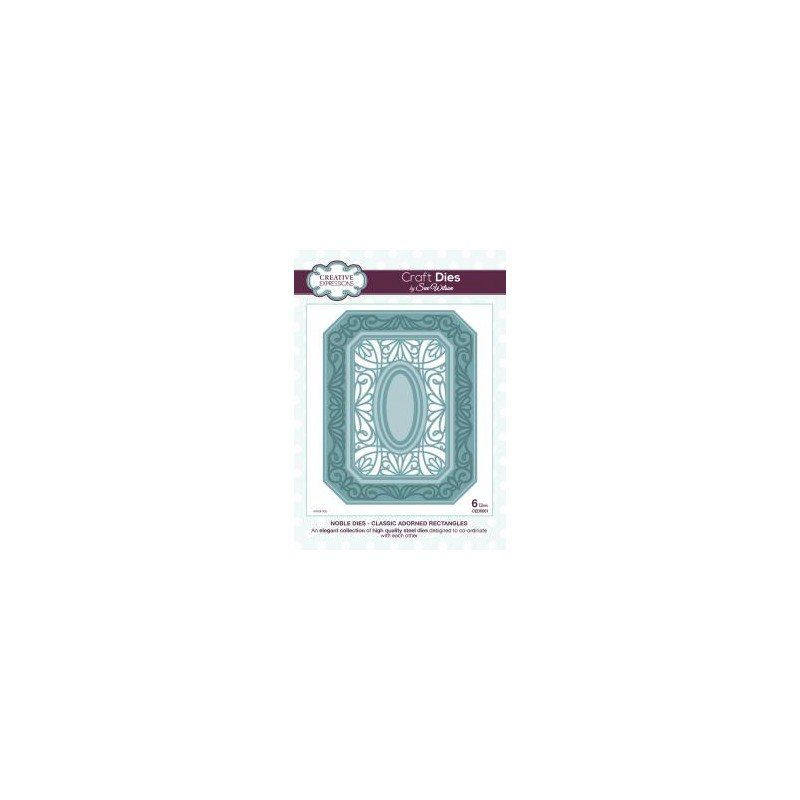 Dies Creative Expressions - Noble - Classic Adorned Rectangles