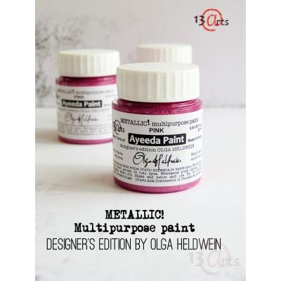 Peinture Ayeeda Paint - Metallic Pink