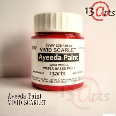 Peinture Ayeeda Paint - Vivid Scarlet