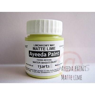 Peinture Ayeeda Paint - Matte Lime