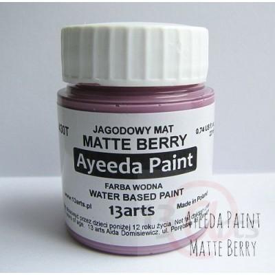 Peinture Ayeeda Paint - Matte Berry