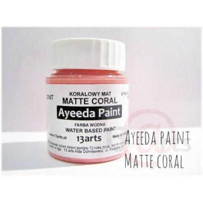 Peinture Ayeeda Paint - Matte Coral