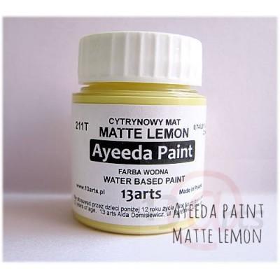 Peinture Ayeeda Paint - Matte Lemon