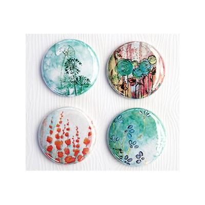 """Badges Lime Citron 1"""" - Art-Fleurs"""