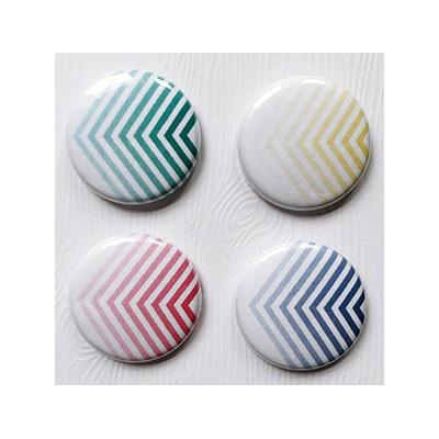 """Badges Lime Citron 1"""" - Graphique"""