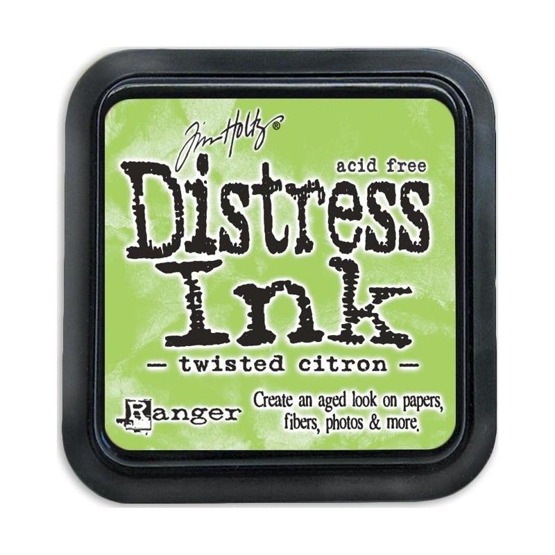 Encreur Distress Twisted Citron