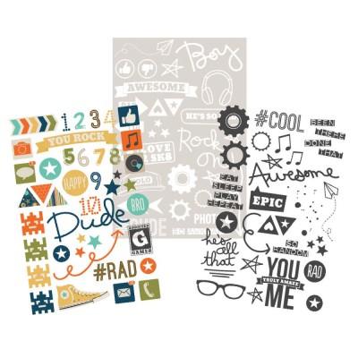Stickers Simple Stories - So Rad - Photo