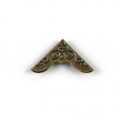 Coin bronze travaillé 30 mm à l'unité