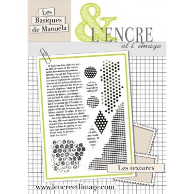 Tampons L'Encre & l'Image - Les Basiques de Manuéla - Textures I