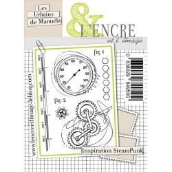 Tampons L'Encre & l'Image - Les Urbains de Manuéla - Inspiration Steampunk