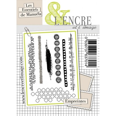 Tampons L'Encre & l'Image - Les Essentiels de Manuéla - Empreintes