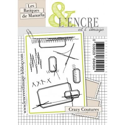 Tampons L'Encre & l'Image - Les Basiques de Manuéla - Crazy Coutures
