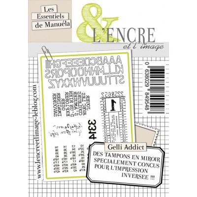 Tampons L'Encre & l'Image - Les Essentiels de Manuéla - Gelli Addict