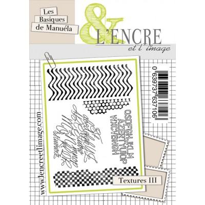 Tampons L'Encre & l'Image - Les Basiques de Manuéla - Textures III