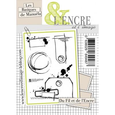 Tampons L'Encre & l'Image - Les Basiques de Manuéla - Du Fil et de l'Encre
