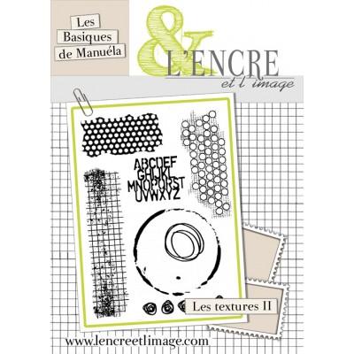 Tampons L'Encre & l'Image - Les Basiques de Manuéla - Textures II