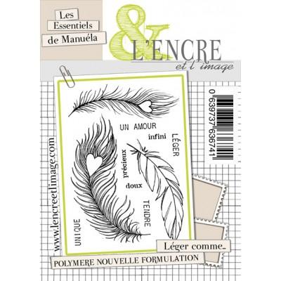 Tampons L'Encre & l'Image - Les Essentiels de Manuéla - Léger comme...