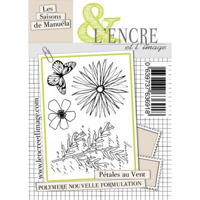 Tampons L'Encre & l'Image - Les Saisons de Manuéla - Pétales au Vent