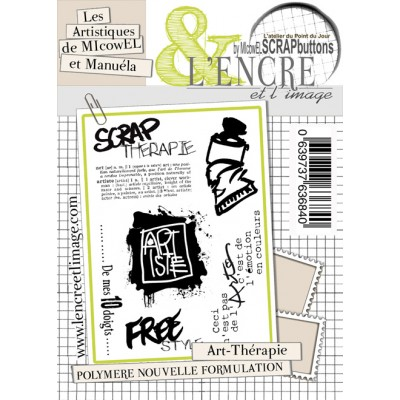 Tampons L'Encre & l'Image - Les Artistiques de MIcowEL & Ginivir - Art-Thérapie