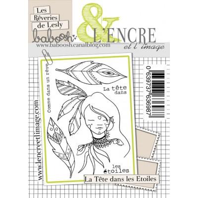 Tampons L'Encre & l'Image - Les Rêveries de Leslie - La Tête dans les Etoiles