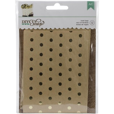 Sachets DIY Shop - Gold Dots