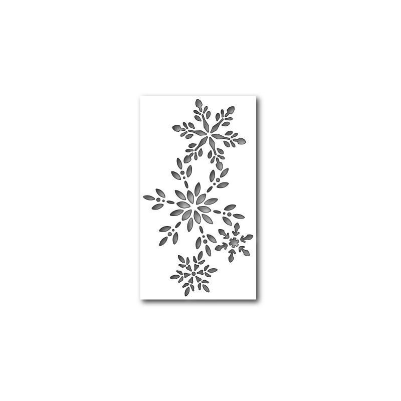 Die Memory Box - Snowflake Collage