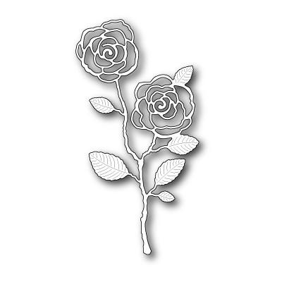 Die Memory Box - English Rose Stem