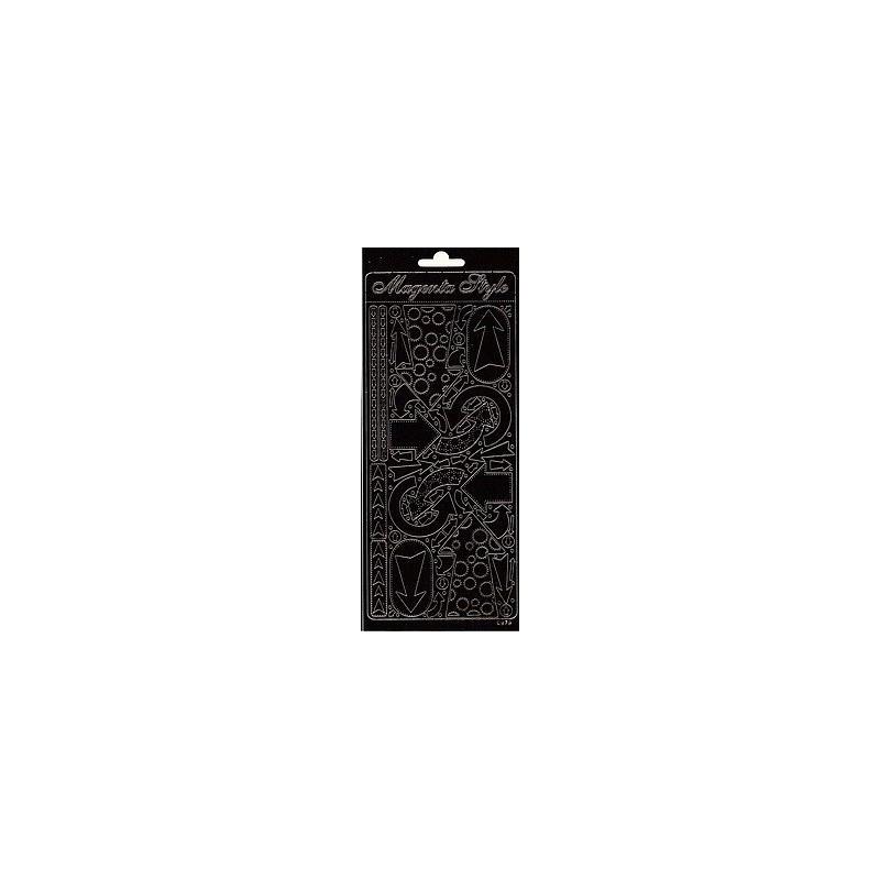 Stickers Peel-off - Flèches - Noir