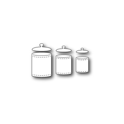 Die Poppystamps - Kitchen Jars