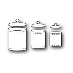 Die Poppystamps - Kitchen Jars