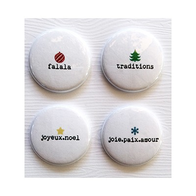 "PRÉ-COMMANDE - Badges Lime Citron 1"" - Mini"