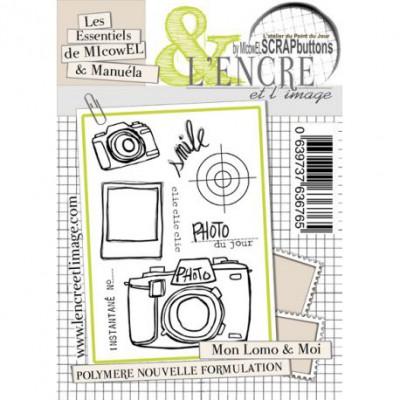 Tampons L'Encre & l'Image - Les Essentiels de MIcowEL & Manuéla - Mon Lomo & Moi