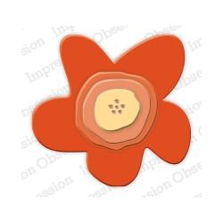 Die Impression Obsession - Free Form Flower