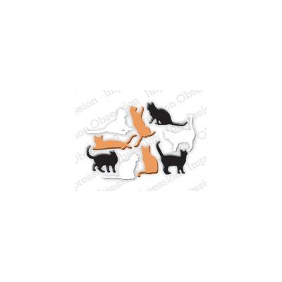 Die Impression Obsession - Mini Cats