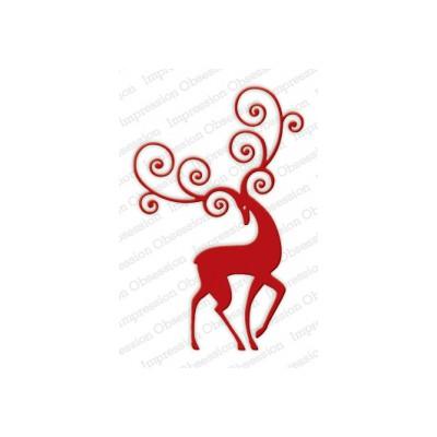 Die Impression Obsession - Reindeer Flourish