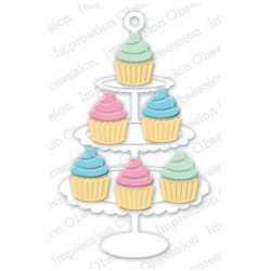 Die Impression Obsession - Cupcake Stand