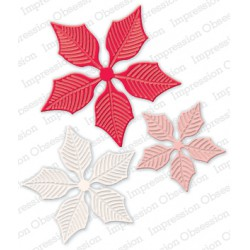 Die Impression Obsession - Large Poinsettia Set