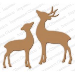Die Impression Obsession - Deer and Doe