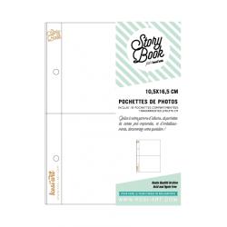 Pochettes 10x16 cm Story Book - Compartimentées