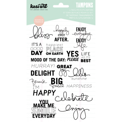 "Tampons clear KesiArt ""Bliss"""