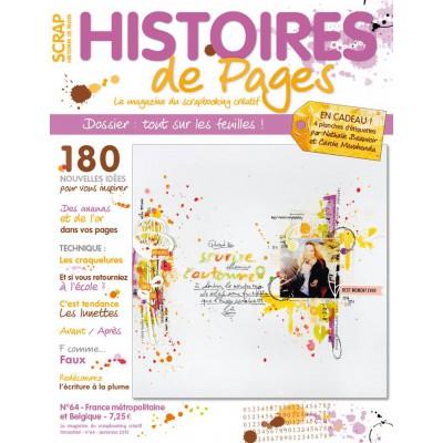 Magazine Histoires de Pages N°64 - Automne 2015