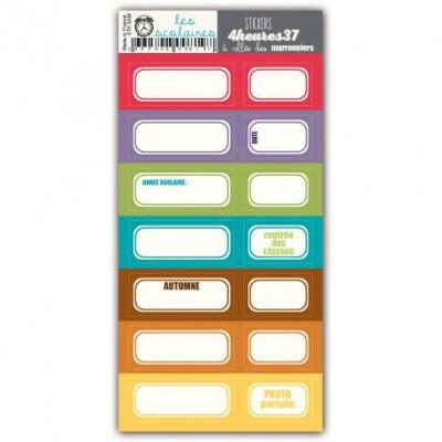 Stickers 4heures 37 - 6 allée des marronniers
