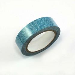 Ruban adhésif pailleté - Turquoise